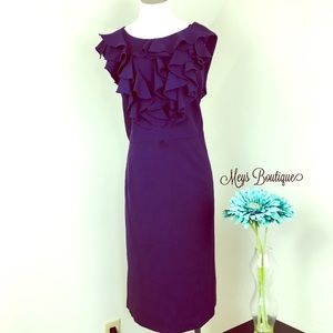 ⭐️SOHO Apparel Stunning Dark Purple Dress⭐️